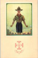 SCOUT - Etre Prêt - Illustrateur Paul Coza - Scouting