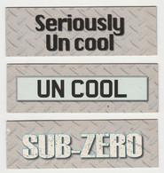 Fridge Magnets Koelkast-magneet TOP GEAR Seriously Un Cool SUB-ZERO UN COOL 2009 - Trasporti