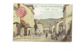 Cpa - 19 - TULLE - SOUILHAC - RUE DU PONT NEUF -1906 - Animation - E.F.I.U. 24 - - Francia