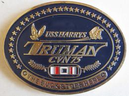 Etatas Unis Médaille Porte-Avions - US Navy USS HARRY S. TRUMAN CVN-75 - Other