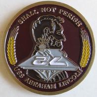 Etas Unis Médaille Porte-Avions - US Navy USS Abraham Lincoln CVN72 - Other