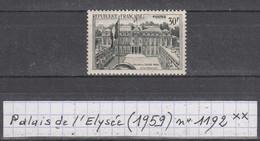 France (1959) Palais De L'Elysée Y/T N° 1192  Neuf ** - France