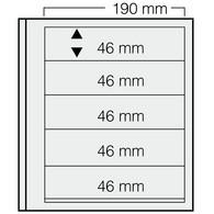 Safe Dual Blankoblätter 615 (VE = 5 Blatt) Neuware (BL 5 - Fogli Bianchi