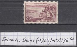 France (1959) Evian-les-bains Y/T N° 1193  Neuf ** - France