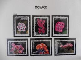 MONACO - ANNEE COMPLETE 1982 - MNH ** - Full Years