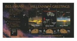 ISLE OF MAN 1999 New Millennium: Greetings Card MINT/UNUSED - Isla De Man