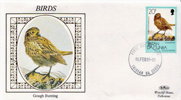 Tristan Da Cunha Stamp On Benham Silk FDC - Non Classificati