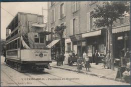 Villemomble , Villemonble , Tramway à Traction éléctrique , Terminus Du Nogentais , Animée - Villemomble