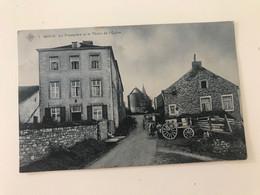 Carte Postale Ancienne (1910) MOHA Le Presbytère Et Le Thiers De L'Eglise - Wanze