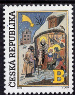 Czech Republic - 2020 - Christmas - Holy Night By Josef Lada - Mint Stamp - Unused Stamps