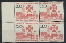 BRD 4x290 Seitenrandblock ** Postfrisch - Unused Stamps
