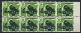 BRD 8x288 Unterrandblock ** Postfrisch - Unused Stamps