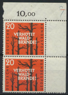 BRD 2x283 Eckrandpaar ** Postfrisch - Unused Stamps