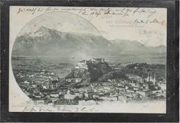AK 0583  Salzburg Vom Kapuzinerberg Aus - Verlag Kasseroller Um 1900 - Salzburg Stadt