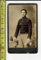 KL 7746 - SOLDAT - SOLDAAT - PHOTHGRAPIE A. DE SOUTER  BRUGGES - Oud (voor 1900)
