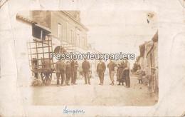 CARTE PHOTO  HAUVINE  Le 18 RUE DE REIMS  Avant 1914 - Other Municipalities