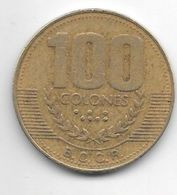 *costa Rica 100 Colones  1999   Km 230a.1 - Costa Rica