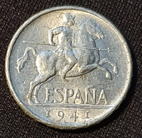 Spain 5 Centimos 1941 - [ 4] 1939-1947 : Gobierno Nacionalista