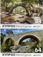 Cyprus - 2018 - Europa CEPT - Bridges - Mint Booklet Stamp Set - Unused Stamps