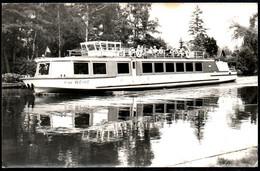 E2641 - MS Weihe Motorschiff Schifffahrt Müggelsee Müggelheim - Foto H. Woike - Dampfer