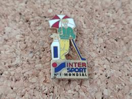 PINS MARQUE MAGASIN INTERSPORT INTER SPORT GOLF - Trademarks