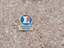 PINS MARQUE MAGASIN LECLERC VILLENEUVE SUR LOT - Trademarks