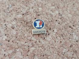 PINS MARQUE MAGASIN LECLERC MANOSQUE - Trademarks