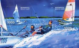 Belarus 2003, Sailing, MNH S/S - Bielorrusia