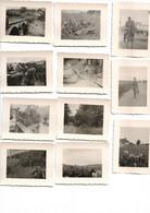 MIL 020 1940 CAMPAGNE FRANCE SOLDATS ALLEMANDS 11 PHOTOS - 1939-45