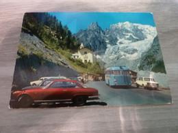 COURMAYEUR - MONT-BLANC ET GLACIER DE LA BRENVA - ND DE LA GUERISON -  1972 - - Aosta