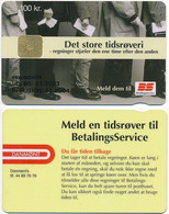 Denmark Exp. 01.2003 / BetalingsService, Payment Service, Bank / Danmønt 100 Kroner - Used - Dänemark