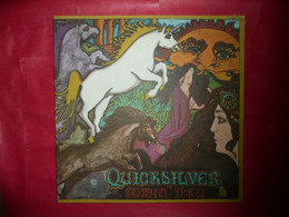 LP33 N°5875 - QUICKSILVER - COMIN' THRU - SMAS -11002 - ORIGINAL USA 1972 - Rock