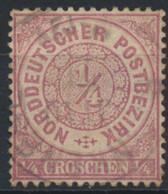 Norddeutscher Postbezirk 13 O - Conf. De L' All. Du Nord