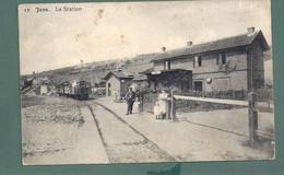 JAVA- Station -statie- Gare - Edit Lafflote - Train Trein - 2 Scans - Wanze