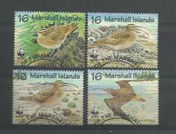 Marshall Islands 1997 WWF Birds Y.T. 794/797 (0) - Marshallinseln