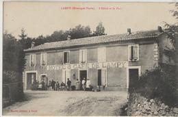 Lampy  11    Montagne-Noire-L'Hotel Café De Lampy Et Le Parc Tres Animé - Other Municipalities