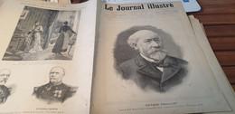 JOURNAL ILLUSTRE 91/OCTAVE FEUILLET  SAINT LO /SCANDALE TOULON AFFAIRE FOUROUX JONQUIERES - Revues Anciennes - Avant 1900
