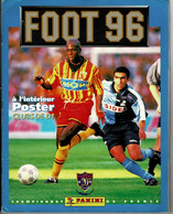 Image- Figurine Autocollante ALBUM PANINI  -  FOOT 96 , Championnat FRANCE :1 Et 2 ème Division, Manque 24 Figurines . - Stickers