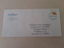Lithuania Litauen Cover Sent From Pilviskiai To Pagegiai  2012 - Lithuania
