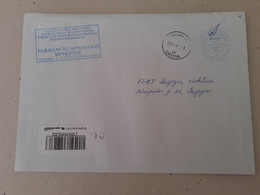 Lithuania Litauen Cover Sent From Klaipeda To Pagegiai  2011 - Lithuania