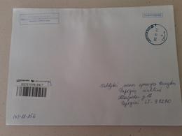 Lithuania Litauen Cover Sent From Vilnius To Pagegiai  2012 - Lithuania