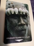 SOLOMON ISLANDS $ 10   O2SIC PEOPLE OF THE SOLOMON ISLANDS      Fine Used    **3466** - Isole Salomon