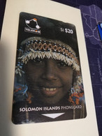 SOLOMON ISLANDS $ 20   O2SDA  PEOPLE OF THE SOLOMON ISLANDS      Fine Used    **3467** - Isole Salomon