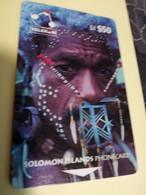 SOLOMON ISLANDS $ 50   O2SIE   PEOPLE OF THE SOLOMON ISLANDS      Fine Used    **3468** - Isole Salomon