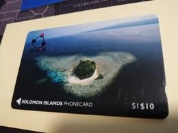 SOLOMON ISLANDS $ 10   O1SIC   BATTLE OF GUADACANAL      Fine Used    **3469** - Isole Salomon