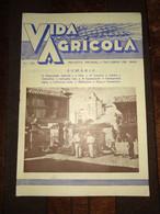 """Revista Portuguesa  Nº 32 Year 1940 """"VIDA AGRICOLA"""" Capa, Um Trecho Do Centro Regional Exposição Do Mundo Português. - Books, Magazines, Comics"""