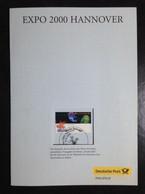 GERMANY,  Booklet « EXPO  HANNOVER », 2000 - 2000 – Hannover (Duitsland)