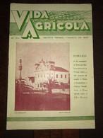 """Revista Portuguesa  Nº 30 Year 1940 """"VIDA AGRICOLA"""" Capa, Estremoz - Largo Do Pelourinho. Contra Capa Beja - Books, Magazines, Comics"""