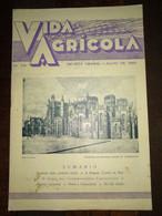 """Revista Portuguesa  Nº 29 Year 1940 """"VIDA AGRICOLA"""" Capa, Batalha-Memória Gloriosa Vitória De Aljubarr. Contra Capa Faro - Books, Magazines, Comics"""