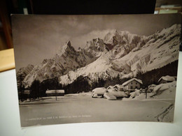 Cartolina  Planpincieux Sel Comune Di Courmayeur Val Ferret Prov Aosta  Monte Bianco Paesaggio Invernale - Aosta
